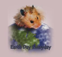 Earth Day Everyday Hamster by jkartlife