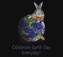 Celebrate Earth Day Everyday Bunny by jkartlife