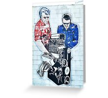 Some Engines Never Fade  Greeting Card