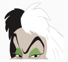 Cruella Deville- 101 Dalmatians  by Maggie Smith