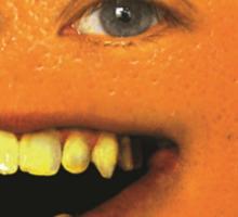 The Annoying Orange! Sticker