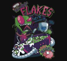 Invader Flakes by AtomicRocket