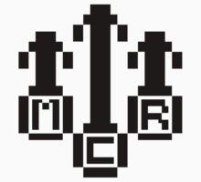 8Bit MCR Logo (Black) by Robb Young