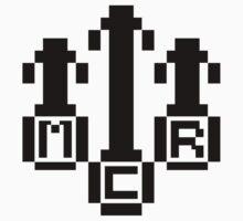 8Bit MCR Logo (Black) by Robb Young