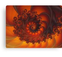 Decorative Shell Fractal  Canvas Print