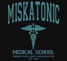 Miskatonic Medical School Blue by AngryMongo