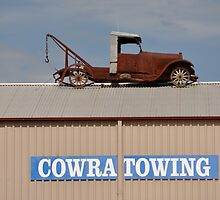 Rooftop Parking, Cowra, New South Wales, Australia 2013 by muz2142