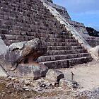 Chichen Itza Serpent Stairs by Eva Kato