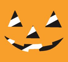 Black/White Striped Pumpkin Face by thedovahmaster