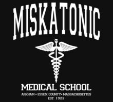 Miskatonic Medical School White by AngryMongo