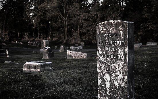 Eerie Graveyard by Drew Robinson