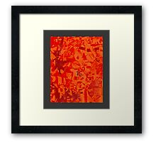 Gaze from within Framed Print