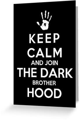 Keep Calm And Join The Dark Brotherhood by Royal Bros Art