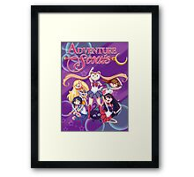 Adventure Scouts! Framed Print