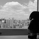 Clara at the Window by Lisadee Lisa Defazio