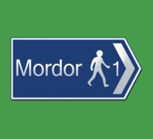 Footpath to Mordor Kids Clothes