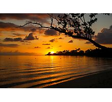 Jamaican Sunset Photographic Print