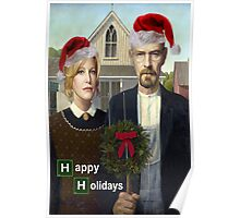 Happy Holidays from The Whites Poster