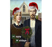 Happy Holidays from The Whites Photographic Print