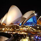 The Sydney Opera House by KevinGrieveArt