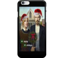 Happy Holidays from The Whites iPhone Case/Skin