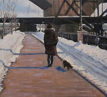 Winter Walk by Laura Toth