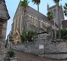 Cathedral of the Most Holy Trinity, Bermuda by John Schneider