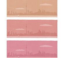 Toronto Skyline by Angela Byrne