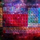 Stardust Periodic Table by Carol and Mike Werner