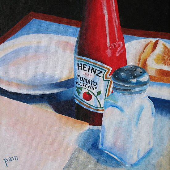Ketchup and Salt by Pamela Burger