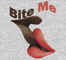 Bite Me T-Shirts & Hoodies by mike desolunk