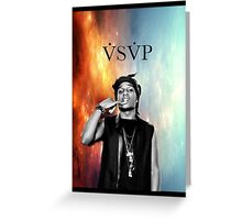 Asap Rocky VSVP Greeting Card