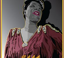 ELLA FITZGERALD JAZZ VOCALIST by Larry Butterworth