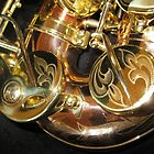 Engravings on Monarch Windsor Saxophone by BlueMoonRose