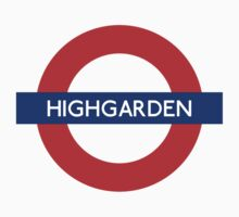Highgarden Underground by SerLoras