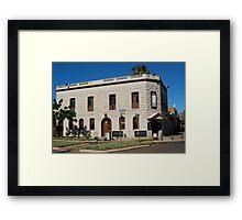 The Rock Inn, Boulder WA Framed Print