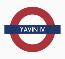 Yavin IV Underground by Heidi Cox