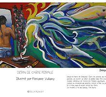 """Denpasar "" en Mots & Image (F.Vuillamy ) by Eric Tchijakoff"