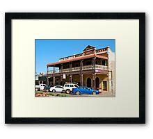 Albion Shamrock Hotel - Boulder, W.Australia Framed Print