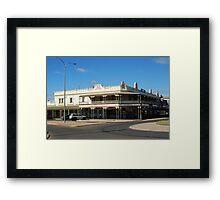 Cohn's Building Kalgoorlie Framed Print