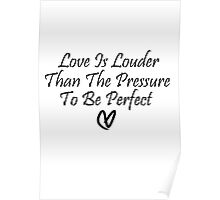 Love Is Louder Poster