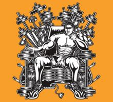 King's Throne of Barbells by Masthoman