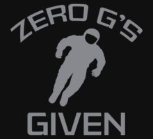 Zero G's Given by BrightDesign
