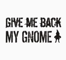 Give Me Back My Gnome by malapipa