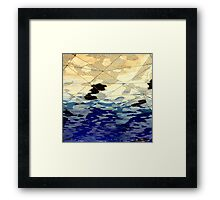 METAL TEXTURE TWO Framed Print