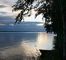 Evening on the lake by KalleCat