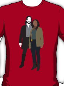 Abbie and Ichabod - Sleepy Hollow (2013) T-Shirt