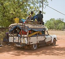 Senegal Taxi by Sue Robinson