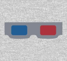 3d Glasses 1980s Cardboard by retromoomin