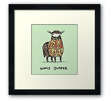 Wooly Jumper Framed Print